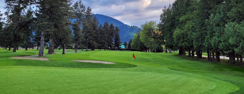 Chilliwack Golf hole 6